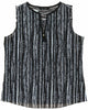 Ellen Tracy Women's Sleeveless V-Neck Blouse