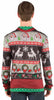 Faux Real Mens Ugly Frisky Deer Sweater Long Sleeve T-Shirt