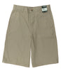 French Toast Boys Official Schoolwear Uniform Khaki Shorts with Adjustable Waist