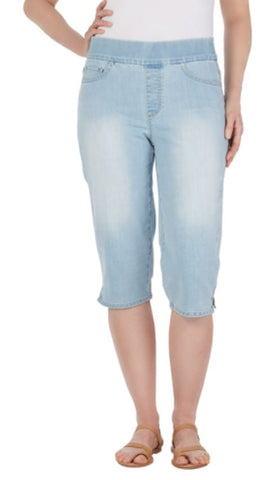 Gloria Vanderbilt Women's Avery Skimmer Pull On Stretch Capri Pant