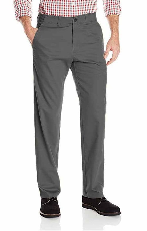 Haggar Mens In Motion Straight Fit Chino Pant