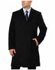 Hathaway Men's Wool Cashmere Blend Overcoat