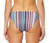 Jessica Simpson Womens Striped Strappy Bikini Bottoms