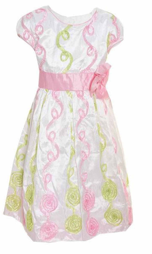Jona Michelle Girl's Special Occasion Spring Formal Party Dress