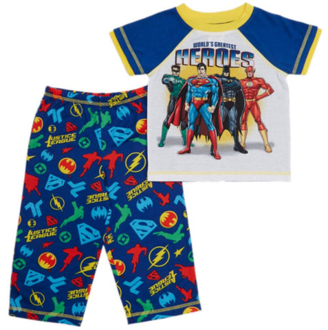 Komar Kids Boys' Super Hero Variety Pajama Sets