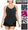 Kirkland Signature by Miraclesuit Women's Slimming Tankini Swimsuit Swim Top