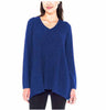 Beatrix Ost Womens Ribbed Knit Long Sleeve V-Neck Tunic Sweater
