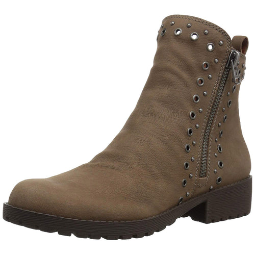 Lucky Brand Women's Hannie Grommet-Studded Booties (Brindle, 5M)