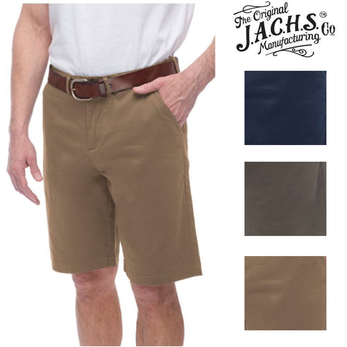 Jachs Men's Sateen Flat Front Shorts