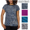 Ellen Tracy Women's Dolman Top Blouse