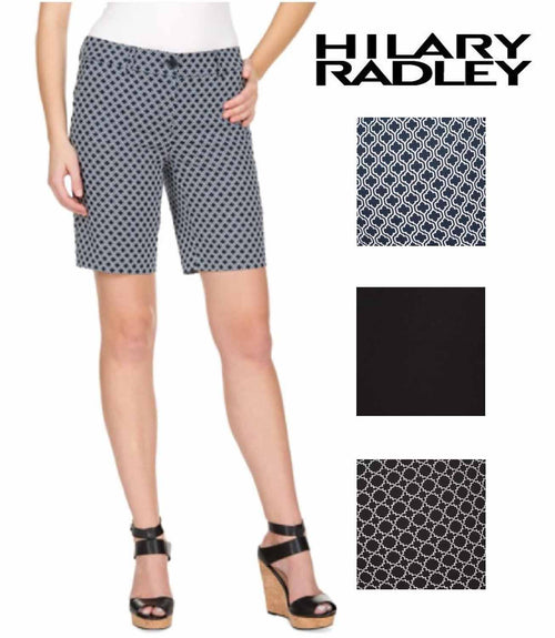 Hilary Radley Women's Stretch Bermuda Shorts