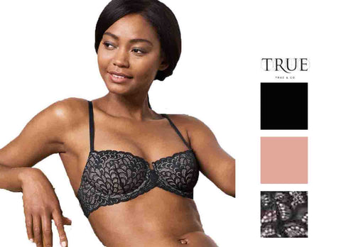 Delta Burke Intimates Womens Light Lift Bra 2 Pack (Black/Green, 42D)