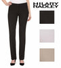 Hilary Radley Women's Lightweight Slim Leg Dress Pant