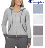 Champion Womens French Terry Full Zip Hoodie