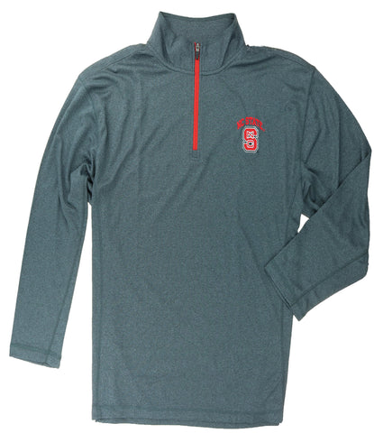 KNIGHTS APPAREL 1/4 ZIP LONG SLEEVE TEAM LOGO SHIRT