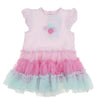 Little Me Baby Girls Cute Tutu Popover Onesie Playwear Dress Outfit