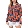 Hang Ten Womens Long Sleeve Rashguard with UPF 50+