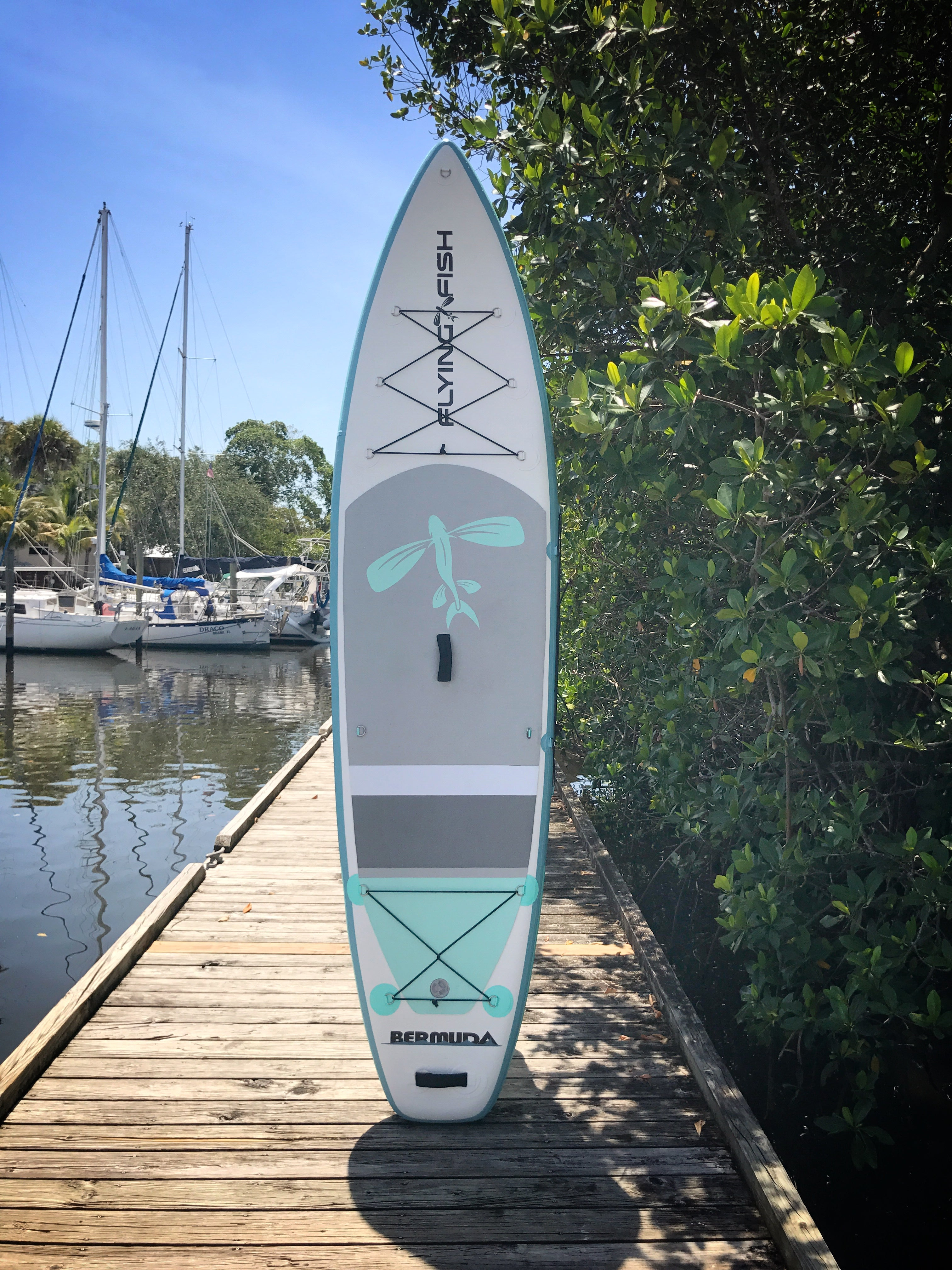 Flying Fish 11 Bermuda Inflatable Stand Up Paddle Board