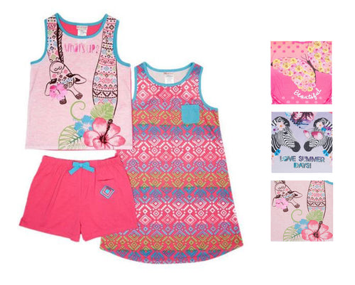 St. Eve Girls' 3-piece Sleep Pajama Set