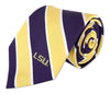 ZEP-PRO Mens NCAA Silk Broad Striped Neck Tie