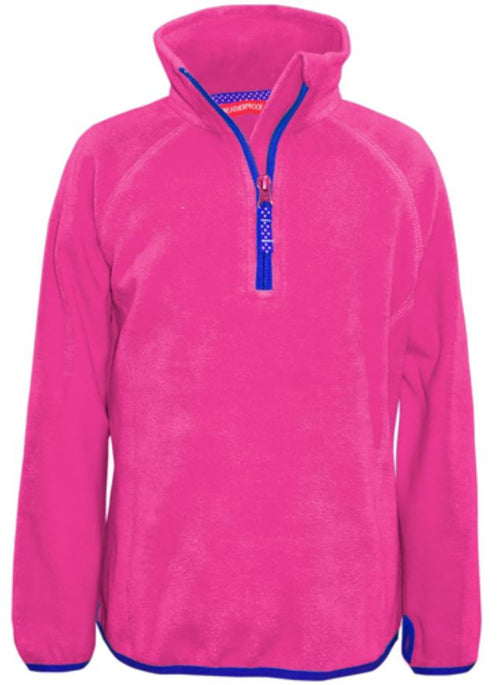 WEATHERPROOF 32 DEGREES GIRLS 1/4 ZIP FLEECE PULLOVER