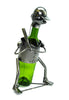 Sports Themed Recycled Metal Wine Bottle Holders