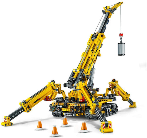 LEGO Technic 2-In-1 Compact Crawler Crane 42097 Building Kit (920 Pieces)