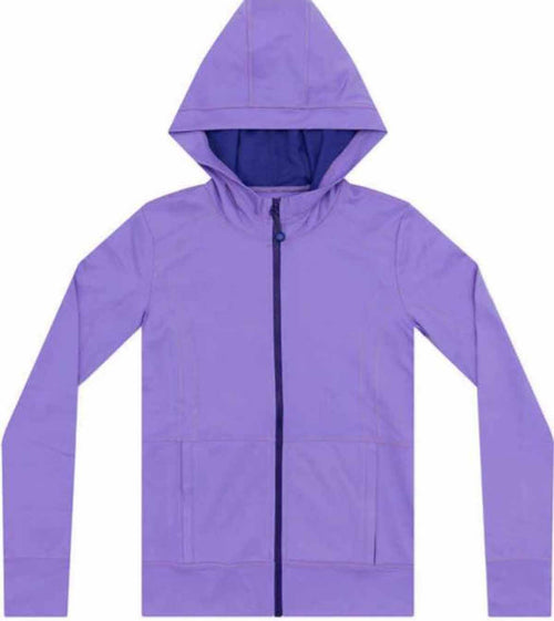 Kirkland Signature Girls Full Zip Active Hoodie