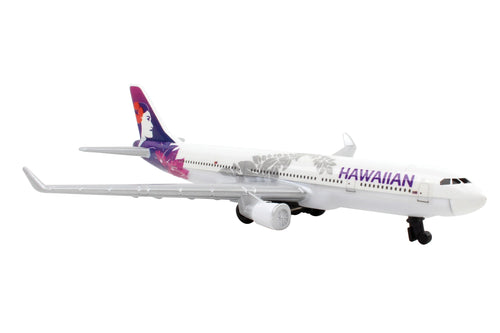 Daron Hawaiian Airlines Single Die-Cast Collectible Plane
