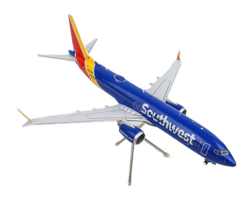 Daron Gemeni 200 Southwest Boeing 737 Max 8 Diecast Metal Collectible Airplane