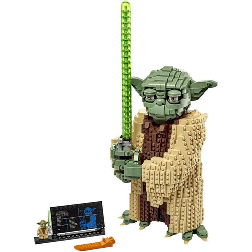 LEGO Star Wars: Attack of The Clones Yoda Building Kit (1771 Pieces)