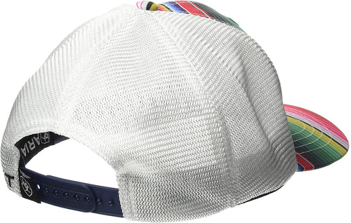 Ariat Womens Serape With Embroidery Logo Ball Cap (Multicolor / White, One Size)