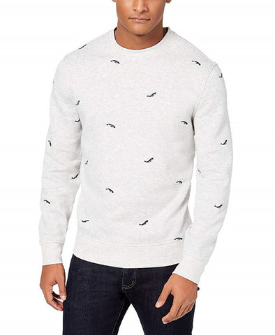 Club Room Mens Whale-Embroidered Sweater