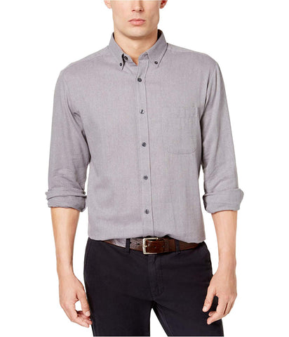 Club Room Mens Collared Button-Down Shirt (Nine Iron,XL)