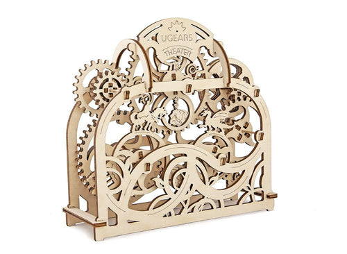 UGears Plywood Theater Collectible Mechanical Model