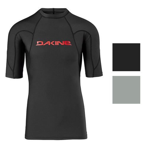 Dakine Men's Heavy Duty Snug Fit Short Sleeve Rashguard Shirt