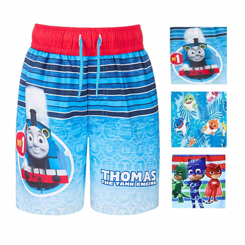 Dreamwave Toddler Boy Licensed Character Swim Trunk UPF 50