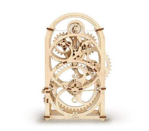 UGears Plywood 20 Minute Timer Collectible Mechanical Model