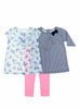 Carters Baby Girl's 3 Piece Set-2 Shirts, 1 Pant