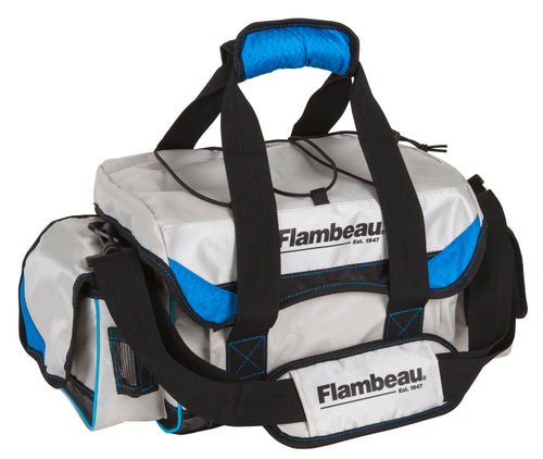 Flambeau Outdoors Coastal Series 4000 Medium Tackle Bag with Tuff Tainers