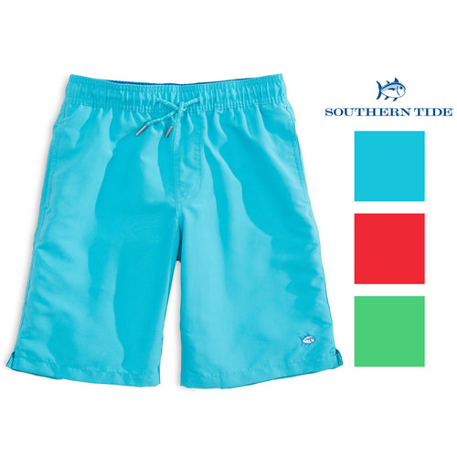 Southern Tide Youth Boys Solid Swim Trunks