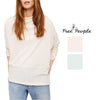 Free People London Town Asymmetrical Top