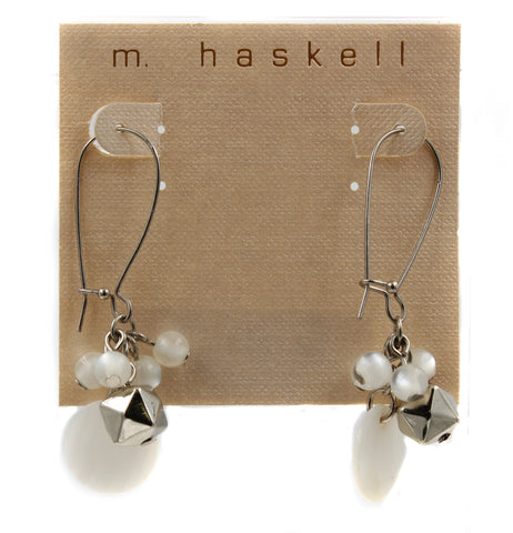 M. Haskell Beaded Drop Dangle Earrings
