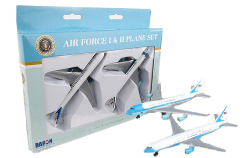 Daron Air Force One and Air Force Two Die Cast Metal Plane Set