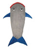 Hodges Collections Kids Mermaid Tail and Shark Fleece Blanket