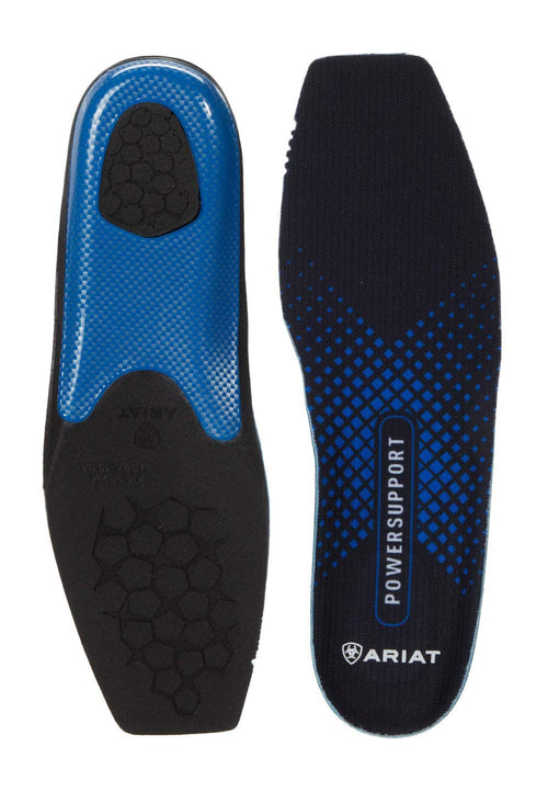 Ariat Mens Power Support Wide Square Toe Insole Footbeds