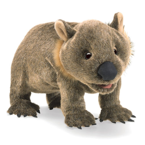 Folkmanis Play Pretend Animal Puppet, Wombat