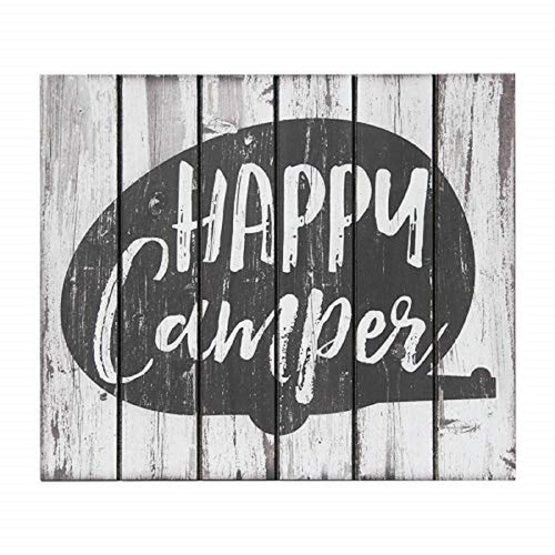 Sunbelt Gifts Rustic Lodge Happy Camper Wood Wall Décor