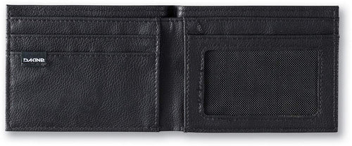 Dakine Mens Riggs Bi-Fold Faux Leather Coin Wallet (Black II, One Size)