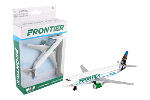 Daron Frontier Single Die Cast Metal Collectible Plane